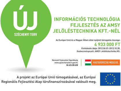Információs technológia fejlesztés az AMSY Jelöléstechnika Kft-nél