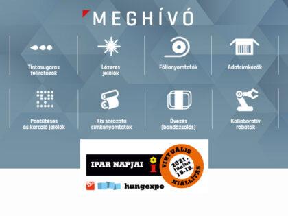 Ipar Napjai 2021 virtuális kiállítás – MEGHÍVÓ